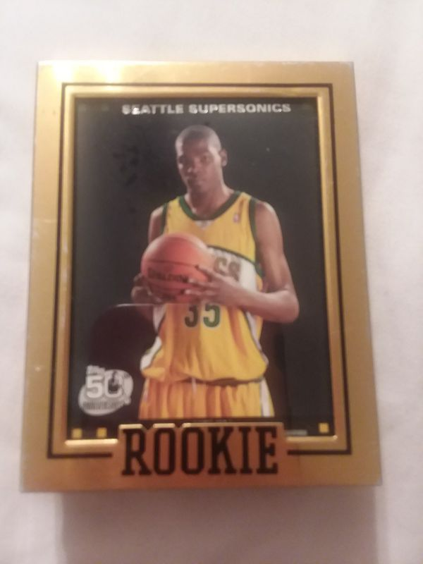 Kevin Durant Rookie Card For Sale In Louisburg Nc Offerup