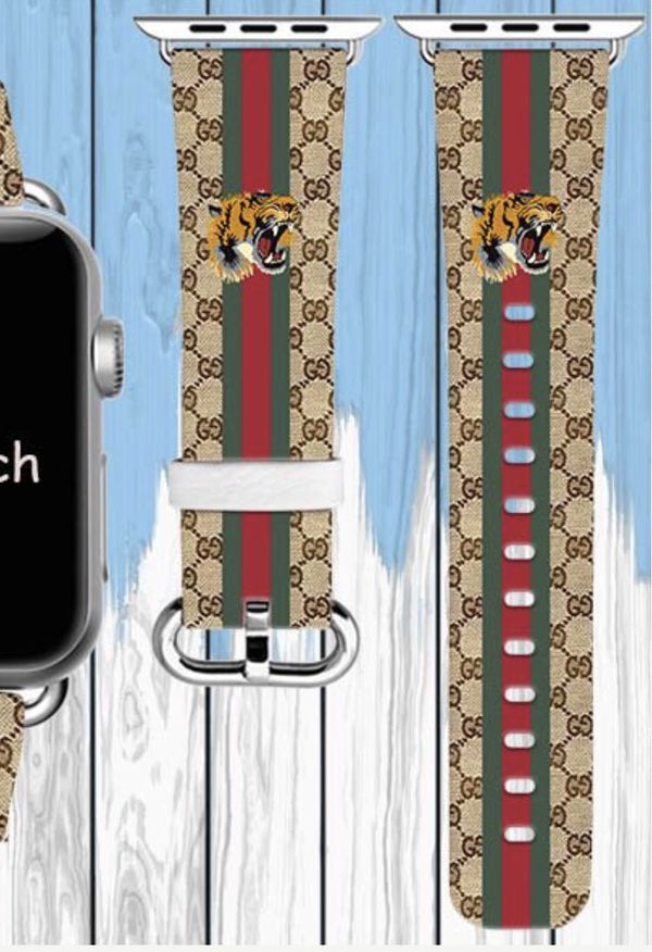 b1a2f0bec98 Gucci printed Apple Watch replacement band for Sale in Tempe