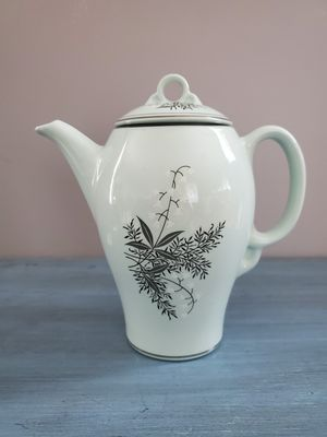 Photo Lady Empire Lily Of The Valley Coffee Pot