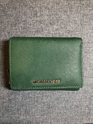 Michael Kors Emerald Green Wallet for Sale in Martinsburg, WV