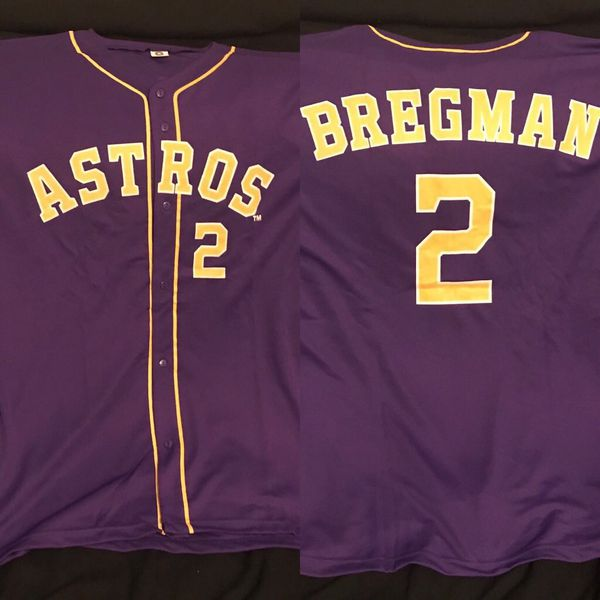 newest e9f7c 41349 Houston astros , XL Alex Bregman appreciation day jersey. for Sale in  Stafford, TX - OfferUp