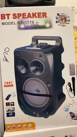 8 Inches Bluetooth wireless speaker with microphone Thumbnail