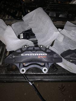 Brembo Camaro new caliper set front and rear