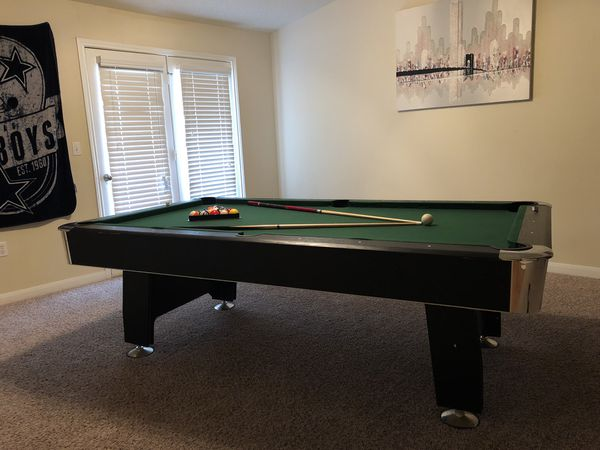 Life Size Real Pool Table For Sale In Houston TX OfferUp - Life size pool table