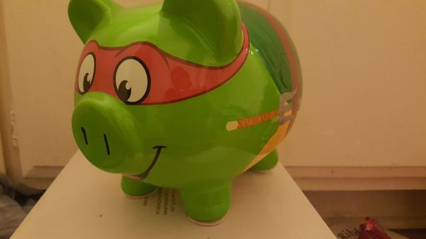 Ninja Turtle Piggy Bank For Sale In West Covina Ca Offerup