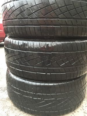Vary nice used tire 3 set off 255/50:ZR19 all is $100 for Sale in Leesburg, VA