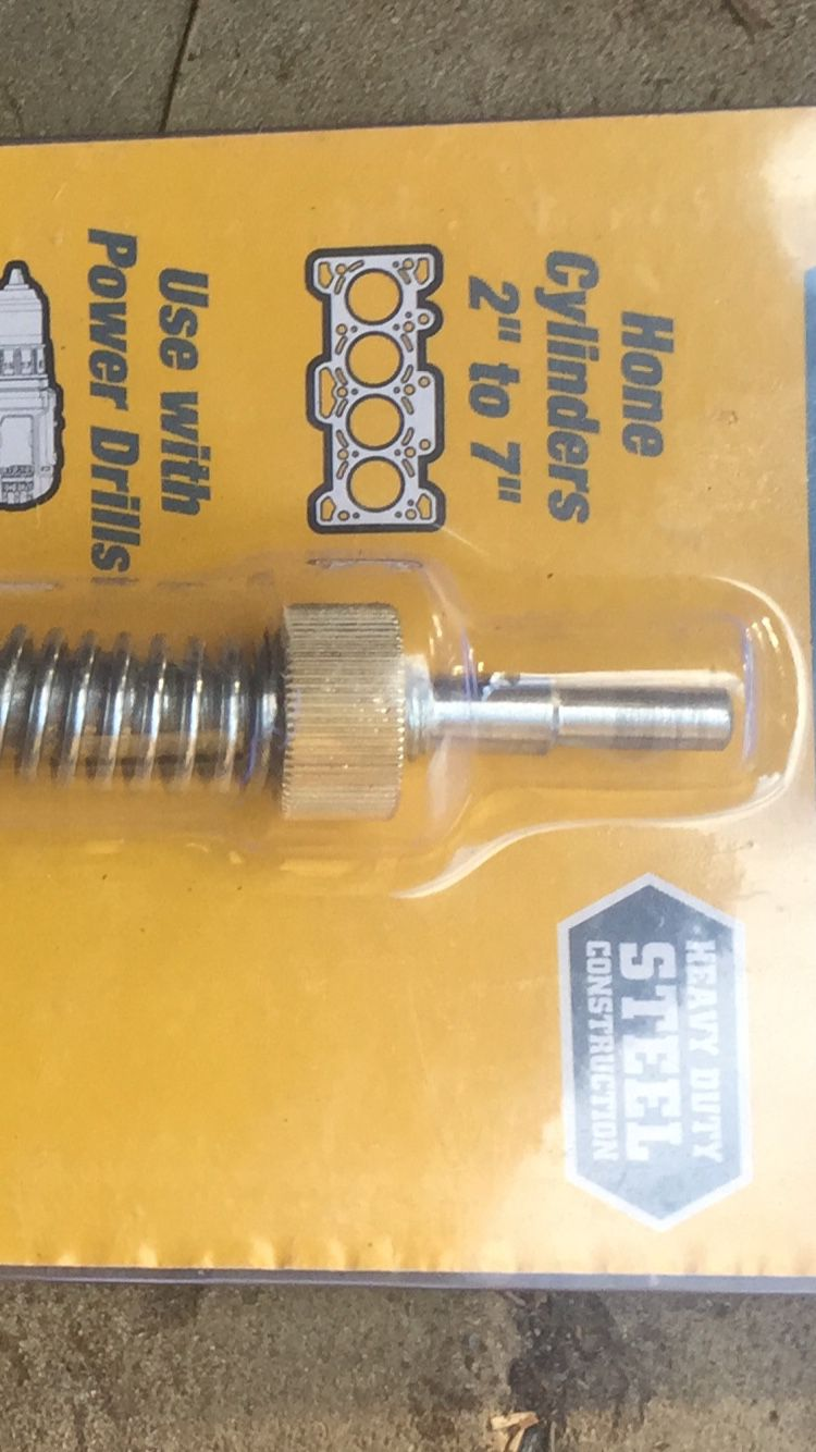 """Engine Cylinder Home 2""""to 7"""" Used With Power Drill"""
