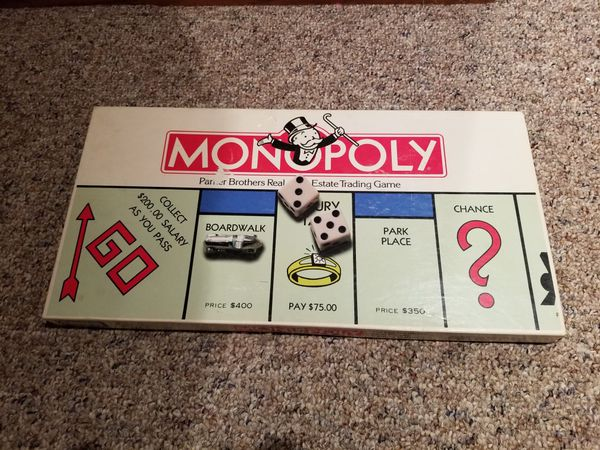 HOW OLD IS MY MONOPOLY GAME? EARLY MONOPOLY GAME …