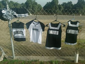 Bandits cheer leading outfits for Sale in OR, US