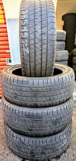 Photo P285-45-22 used tires