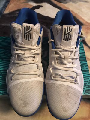 Kyrie 3 White/Blue for Sale in Silver Spring, MD
