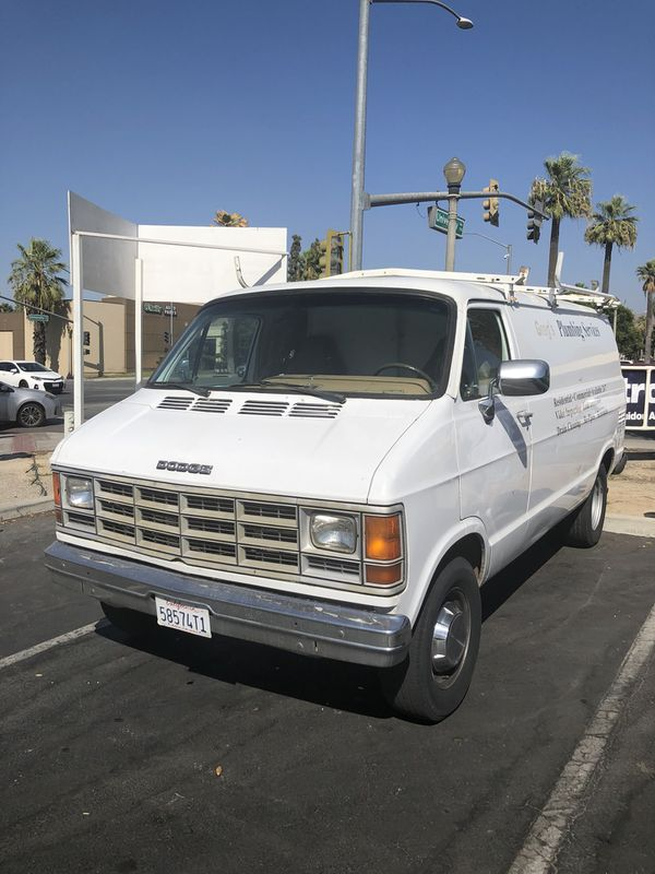 4d9e2930d8 1996 Dodge ram plumber van for Sale in Riverside
