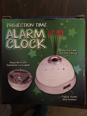 Projection alarm clock for Sale in Germantown, MD