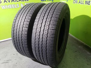 Two 265/70/17 GOODYEAR WRANGLER FREE MOUNT AND BALANCE!! for Sale in Tampa, FL