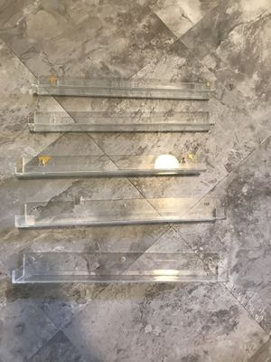 Acrylic shelves for Sale in Atlanta, GA