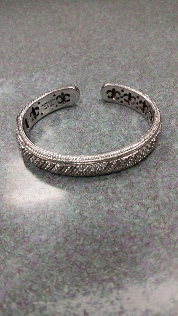 Judith Ripka 925 Cz Thailand Sterling Silver Bracelet Women S Fancy Jewelry Used Accessories In Los Angeles Ca Offerup