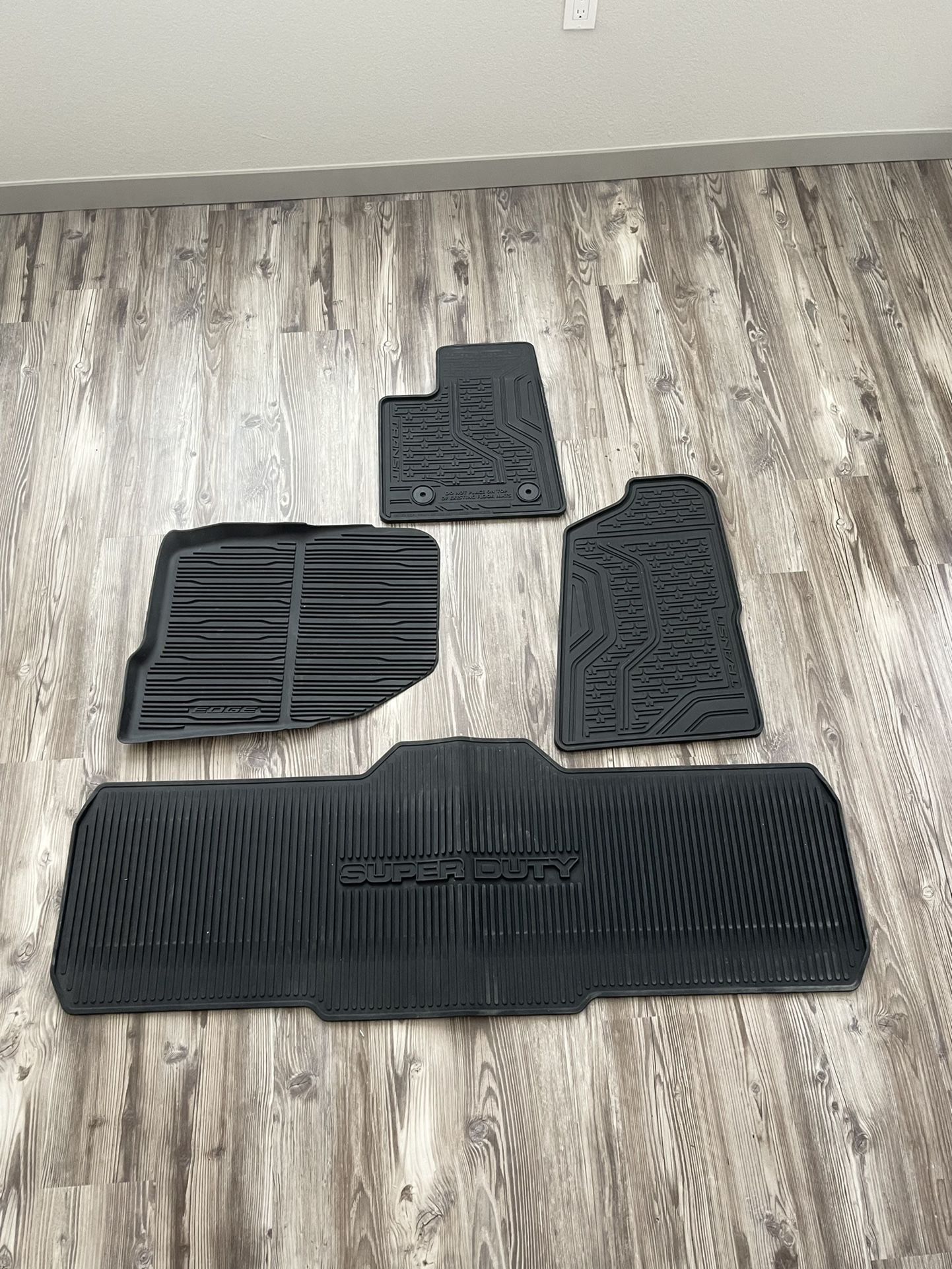 Ford All Weather Floor Mats