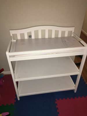 White Changing Table for Baby for Sale in Silver Spring, MD