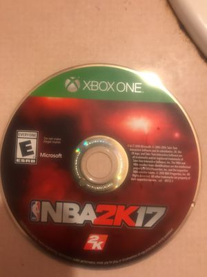 NBA 2k17 for Sale in East Cleveland, OH