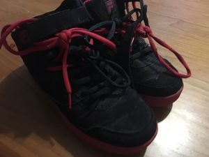 Free used size 5 boys shoes for Sale in Annandale, VA