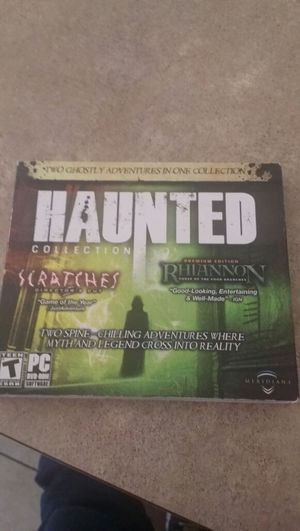 Haunted dvd -rom sofware pc for Sale in Phoenix, AZ