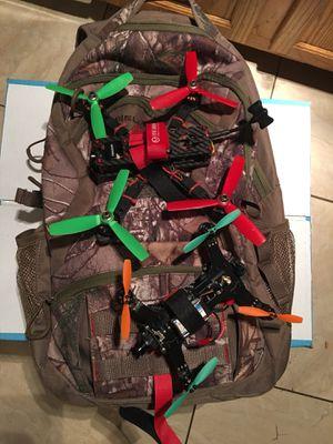 2 racing drones & fpv cyclops no remote for Sale in Clinton, MD