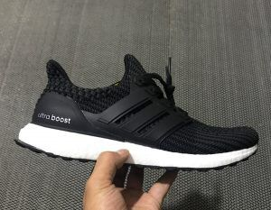 Adidas Ultraboost 4.0 Triple Black (on feet look)