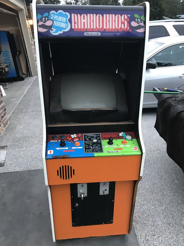 Nintendo Mario Bros Arcade Game For Sale In Tacoma Wa Offerup