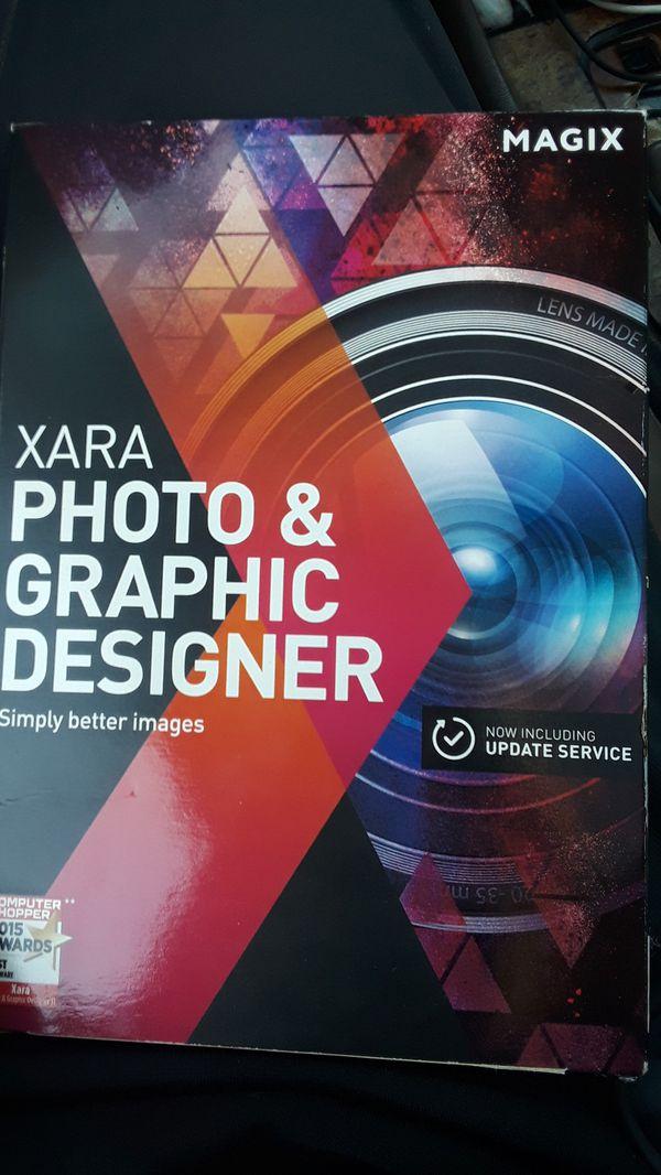 Magix Xara Photo And Graphic Design 12, Traditional Disc for Sale in Santa  Cruz, CA - OfferUp