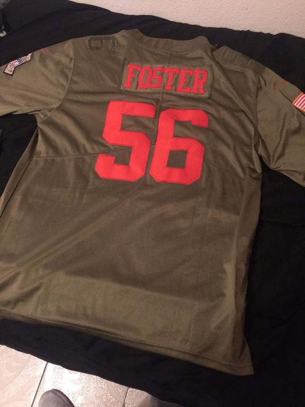 Nike salute to service 49ers Reuben Foster jersey 2xl for Sale in Sacramento 6a35c53c2