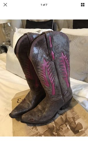 5058af1a05c New and Used Pink boots for Sale in Odessa, TX - OfferUp
