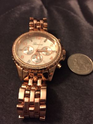 Rose Gold Geneva Watch for Sale in San Diego, CA