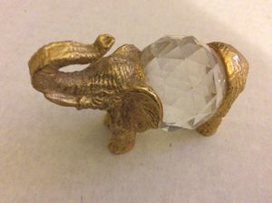 Set of 3 glass elephants for Sale in Berkeley, MO
