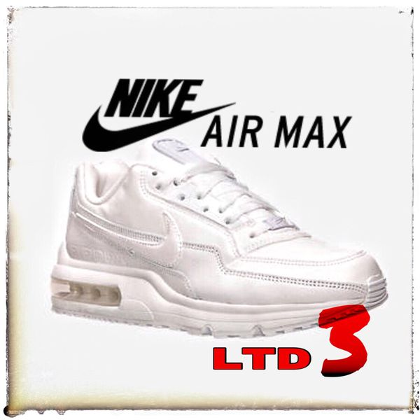 5b3b08f27a NIKE AIR MAX LTD 3 • THE ALL WHITES •10.5 for Sale in Vacaville, CA ...