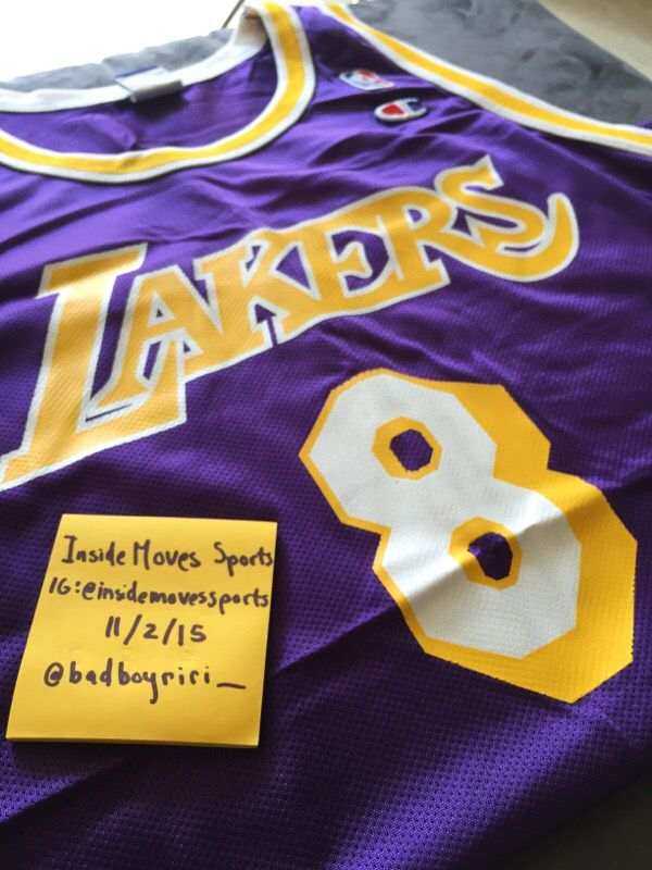 91a21fe269b Vintage Kobe Champion NBA Jersey - Size 44 for Sale in Covina