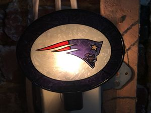 Patriots Stained Glass Night Light for Sale in Washington, DC