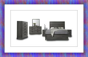 11pc Kate bedroom set free mattress and delivery for Sale in McLean, VA
