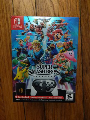 Super Smash Bros Ultimate Special Edition for Sale in West Miami, FL