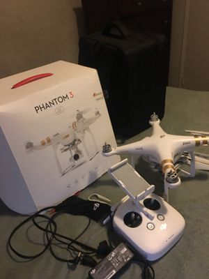 Drone phantom 3 for Sale in View Park-Windsor Hills, CA