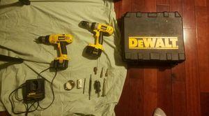 dewalt drill kit for Sale in Fairfax, VA