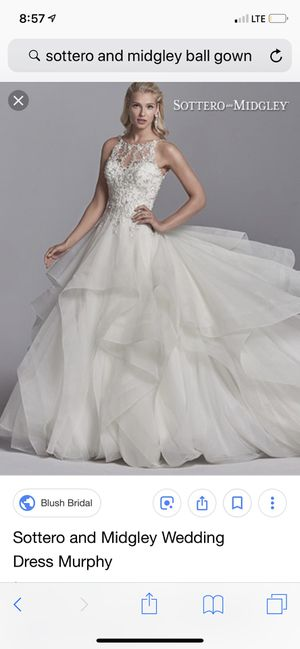 Sottero & Midgley Wedding Dress for Sale in Falls Church, VA