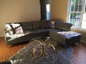 Awesome New And Used Grey Couch For Sale In Atlanta Ga Offerup Andrewgaddart Wooden Chair Designs For Living Room Andrewgaddartcom