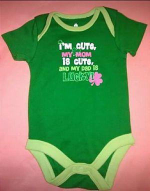 St. Patty newborn onesie for Sale in Hillsboro, MO