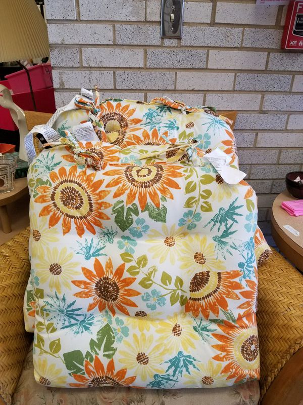 4 Newport Layton Home Fashions Patio Seat Cushions For Sale In