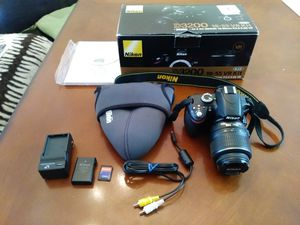 Nikon D3200 18-55 VR Kit for Sale in Manassas, VA
