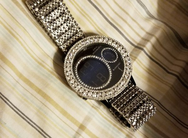 King Johnny Johnnys Custom Jewelry Mens Diamond Watch For Sale In