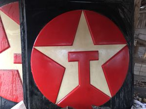 Old Vintage Texaco Sign ( 77 x 73 inch ) for Sale in Dallas, TX