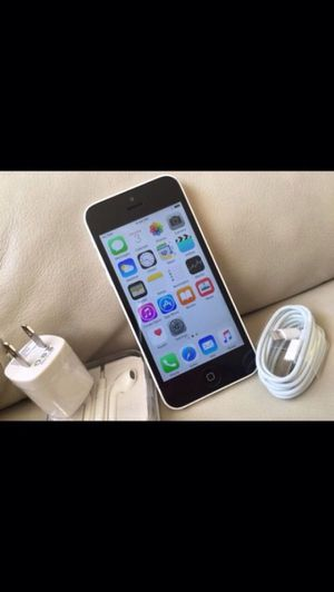 (White)iPhone 5c ,Factory Unlocked Excellent Condition for Sale in Springfield, VA