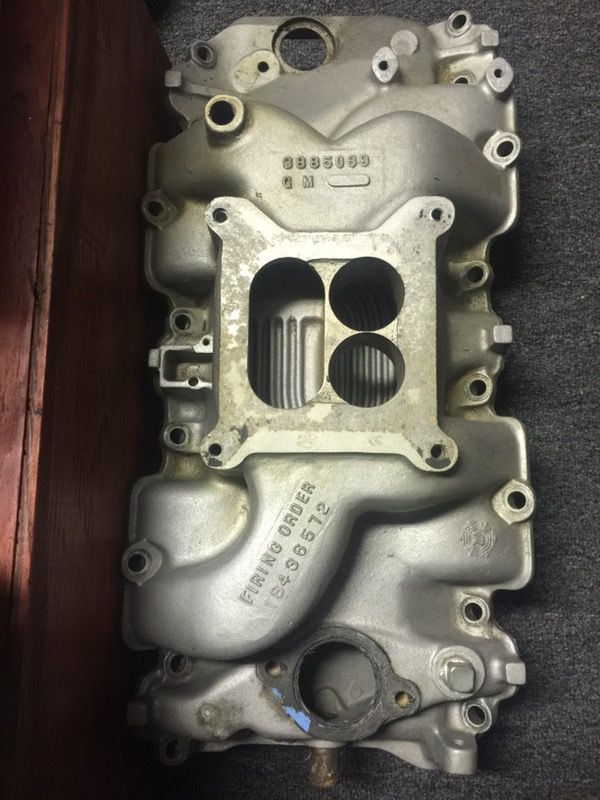 Big block Chevy aluminum intake for Sale in Oakland, CA - OfferUp