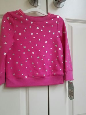 New with tags Cat and Jack fleece top size 3T - $5 price firm for Sale in Rockville, MD